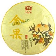 2016 JinGuo Golden Fruit (ripe) from TaeTea Dayi Menghai Tea Factory