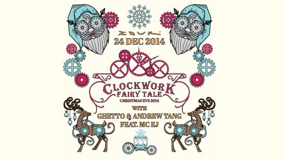 THE GREAT TGIW PRESENTS ZOUK CLOCKWORK FAIRY TALE