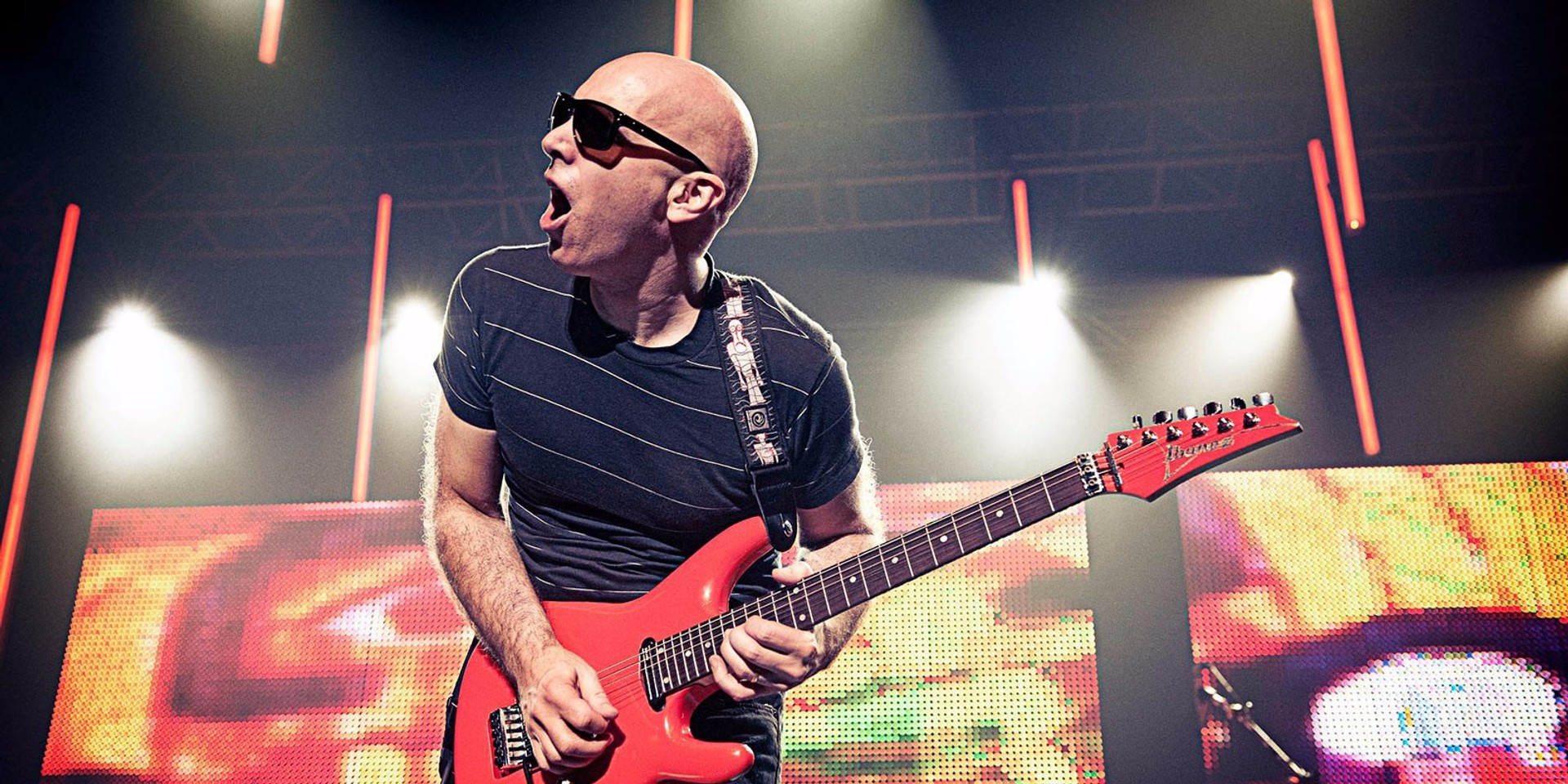 All-time great rock guitarist Joe Satriani returns to Singapore in 2017