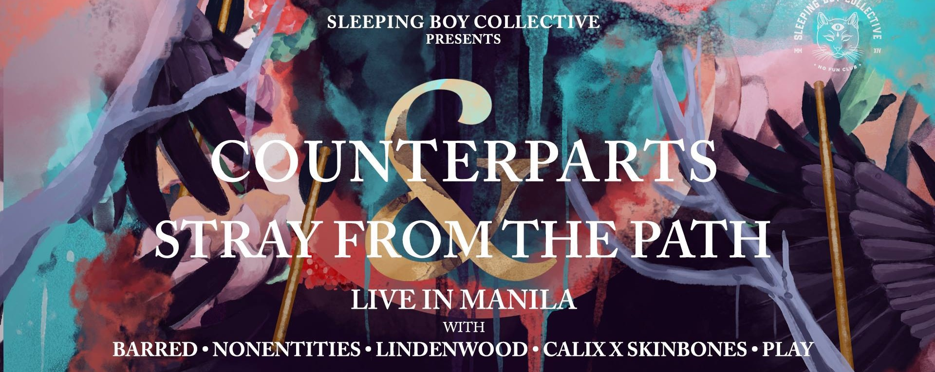 Counterparts and Stray From The Path - Live in Manila