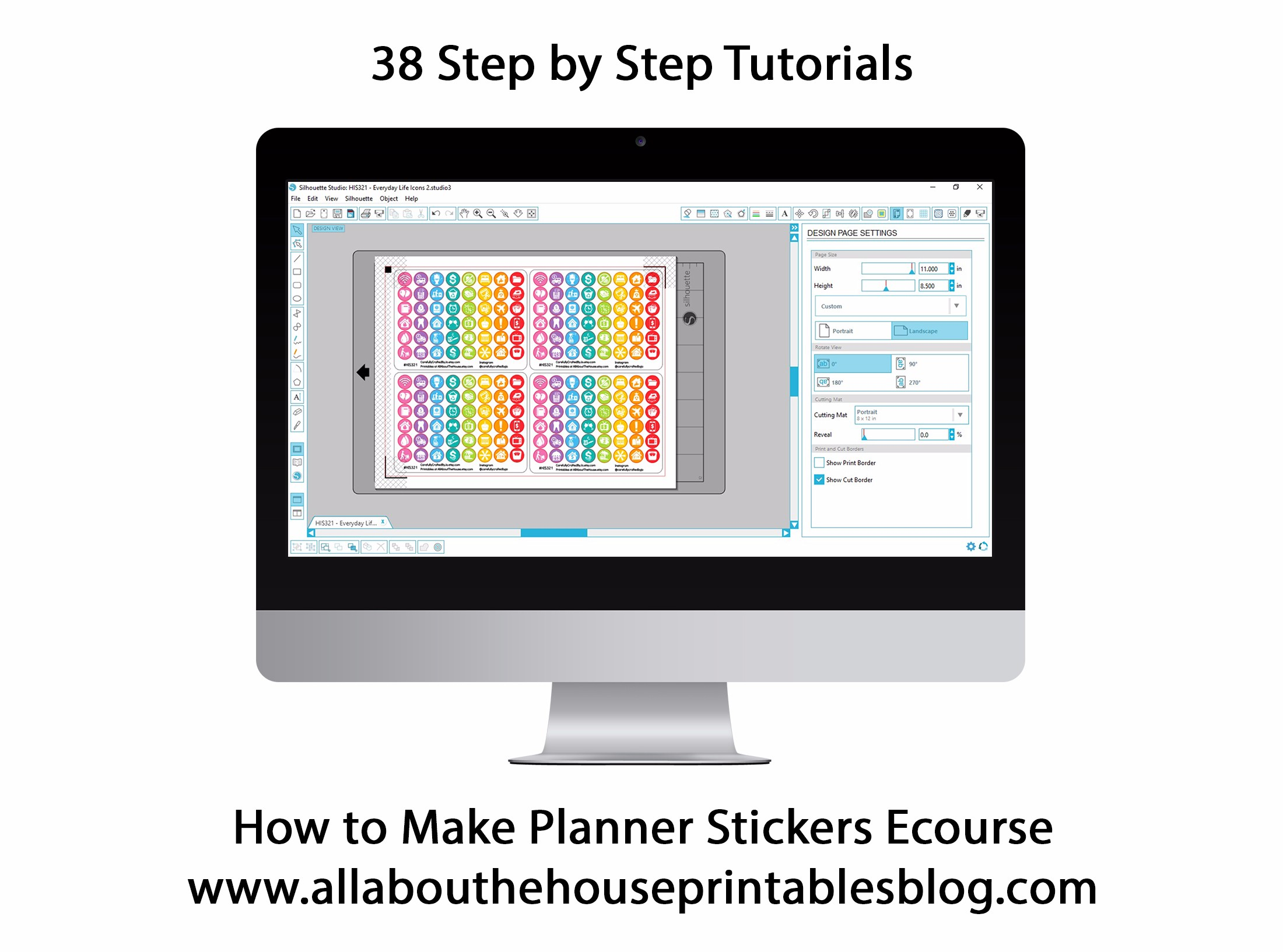 How to make planner stickers build a bigger online business for Make a planner online