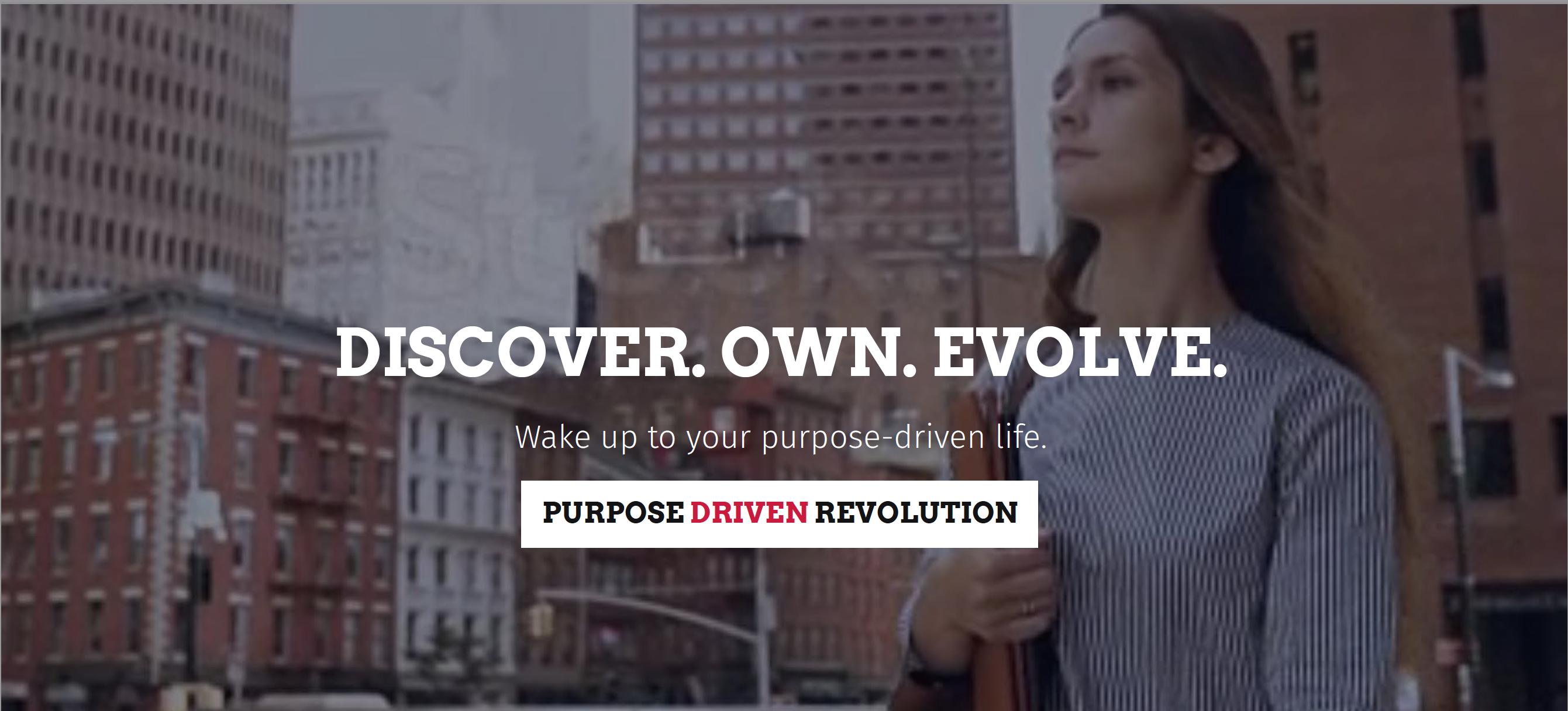Purpose Driven Revolution