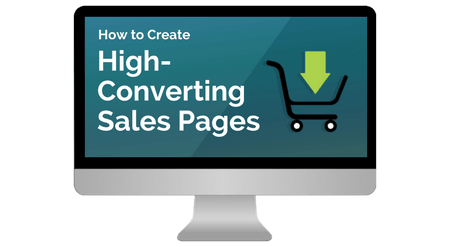 how to create sales page for your blog