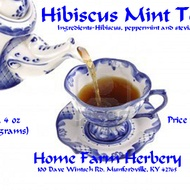 Hibiscus Mint Tea from Home Farm Herbery