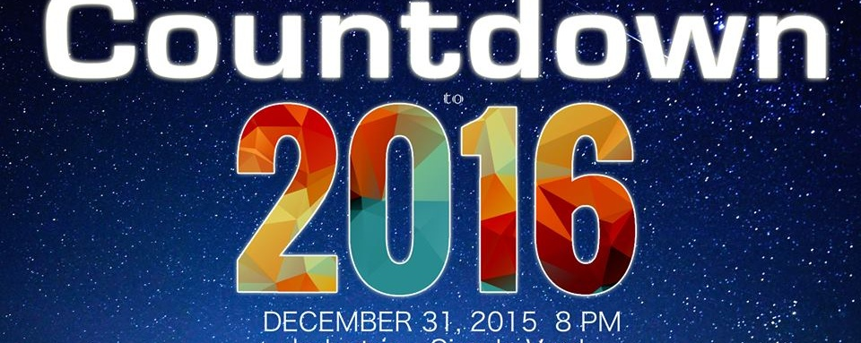 Countdown to 2016!