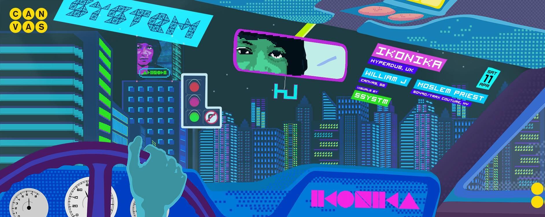 System ft. Ikonika (Hyperdub, UK)