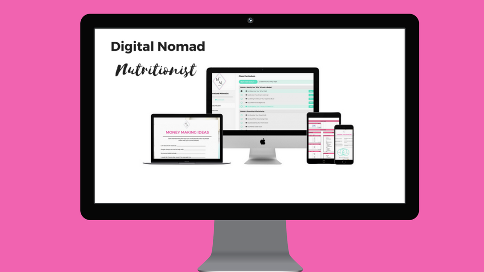 Digital Nomad Nutritionist Rebelle Nutrition Courses