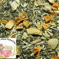 Orange Ginger Mint Herbal Tea from Mountain Maus Remedies
