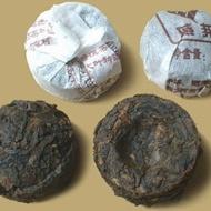 mini pu-erh balls from The Republic of Tea