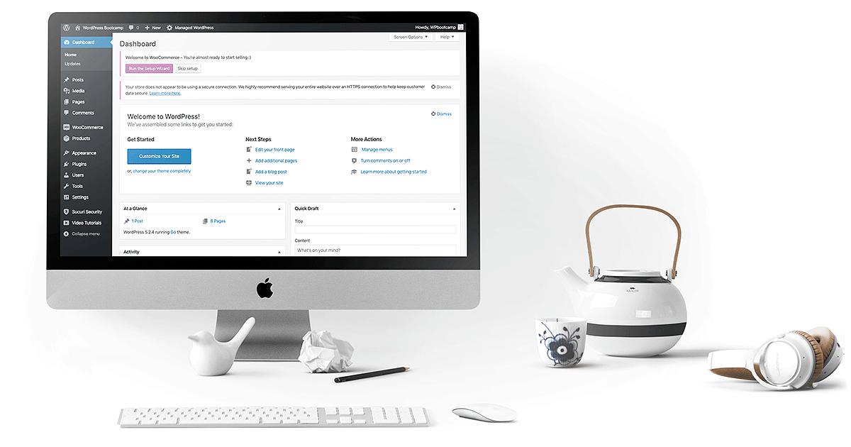 Website in Week with WordPress | AnitaM