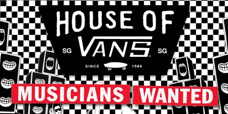 Vans unveils new competition, chance to perform at House of Vans in Singapore