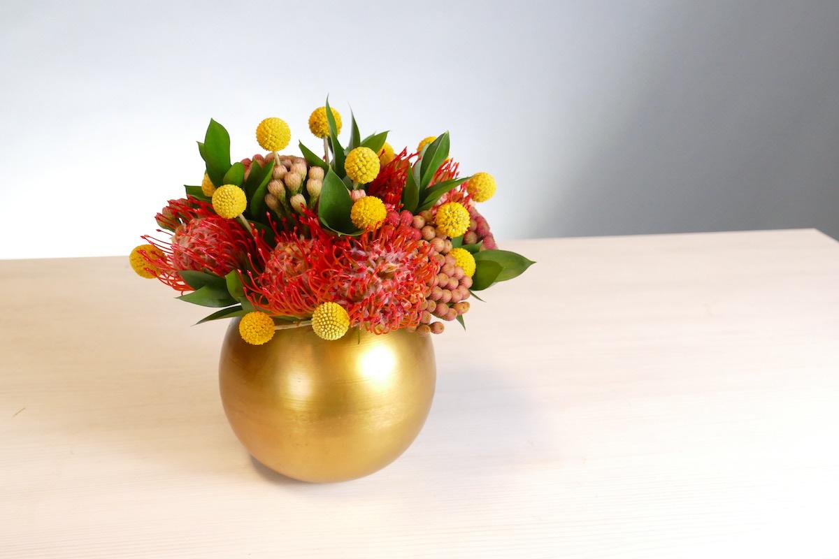 Flower Fridays: Fall Friendship Sphere