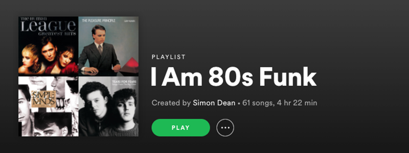 I Am 80s Funk