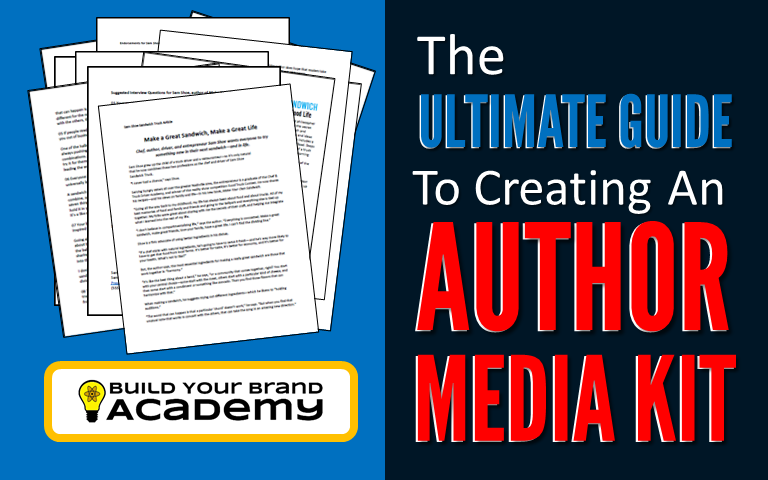 Build Your Brand The Ultimate Guide To Creating An Author Media Kit