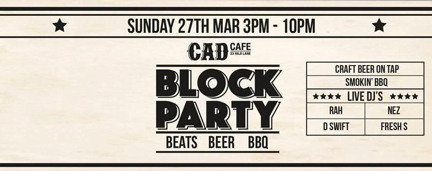 CAD Block Party March 2016