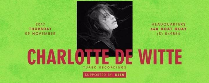 The Council presents Charlotte de Witte (Turbo Recordings)