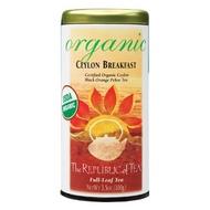 Ceylon Breakfast (Organic) from The Republic of Tea