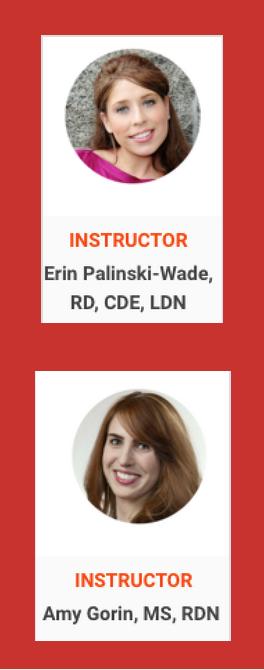 Erin Palinski-Wade & Amy Gorin