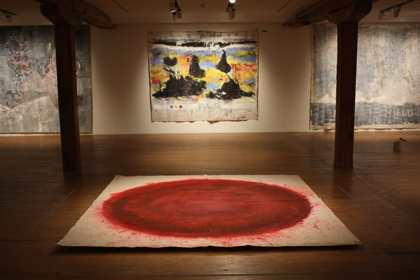image:   Time/Scale - Brandywine River Museum - installation view