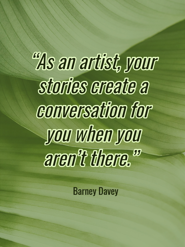 Stories start conversations.