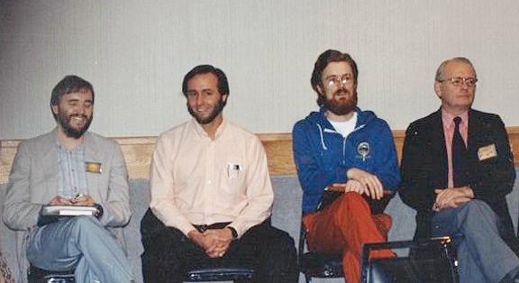 Myself, Stephen Arroyo, Gavin Curruthers & Dennis Elwell.