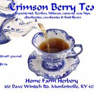 Crimson Berry Rooibos Herbal Tea from Home Farm Herbery
