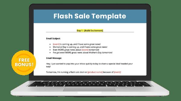 flash sale bonus