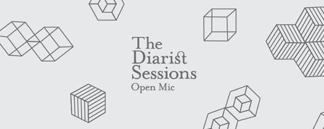 The Diarist Sessions Open Mic #52 - 13 June at The Music Parlour