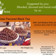 Vanilla Date Flavored Black Tea with Coconut from 52teas