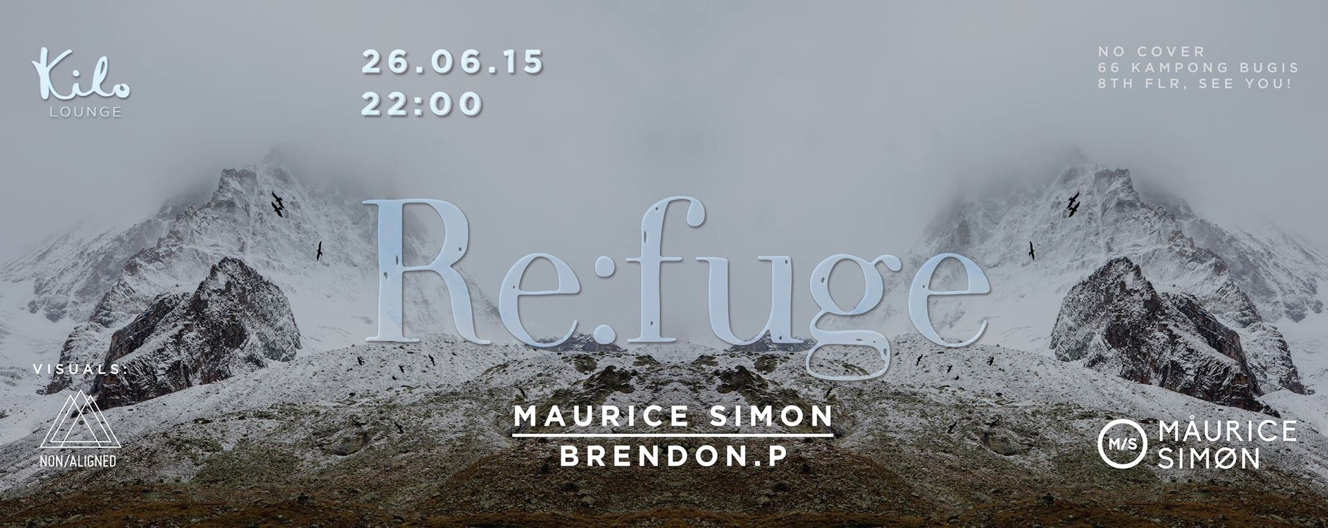 Maurice Simon, Brendon P, Non/Aligned