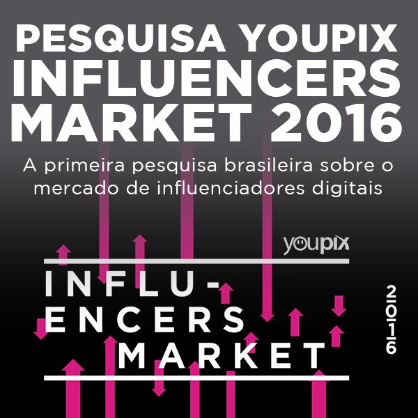 Pesquisa youPIX Influencers Market 2016