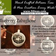 Blueberry Zabaglione Black Tea from 52teas