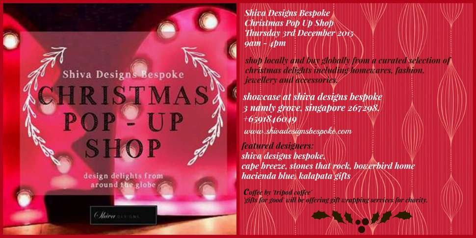 Shiva Designs Bespoke Christmas Pop cover image | Singapore | Travelshopa