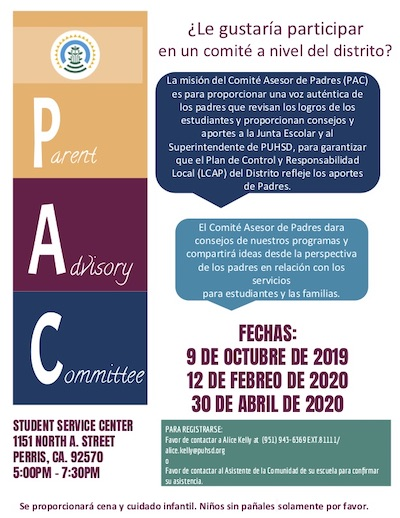 PAC Flyer Spanish pdf