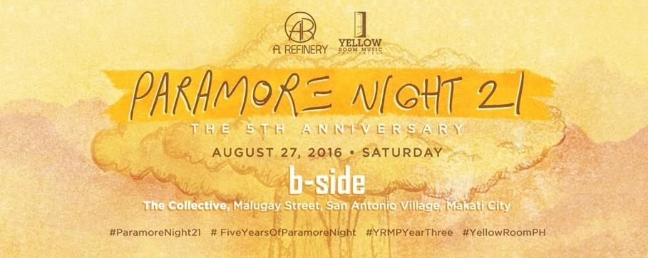 Paramore Night 21: The 5th Anniversary