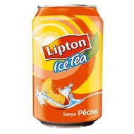 Ice Tea Saveur Pêche (Peach Flavor) from Lipton