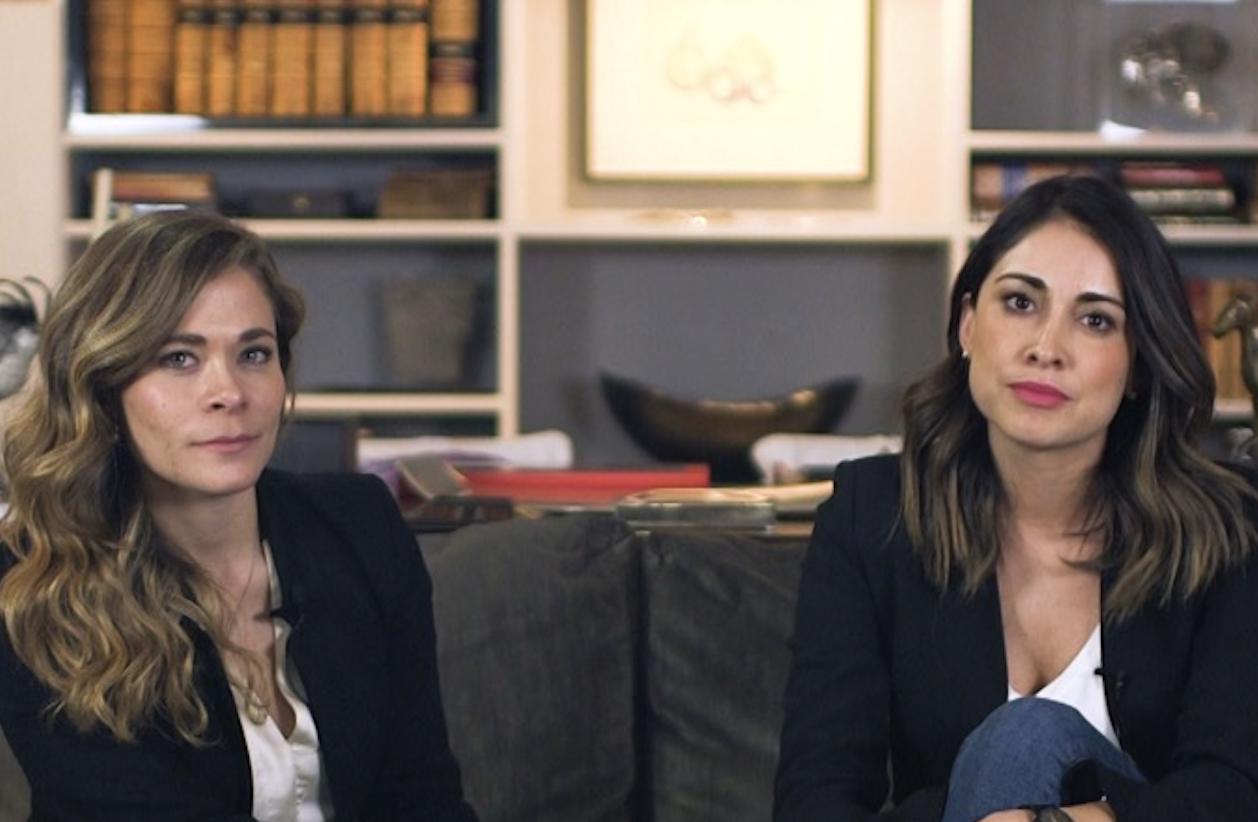 Ana Orvañanos y Adriana Bardales