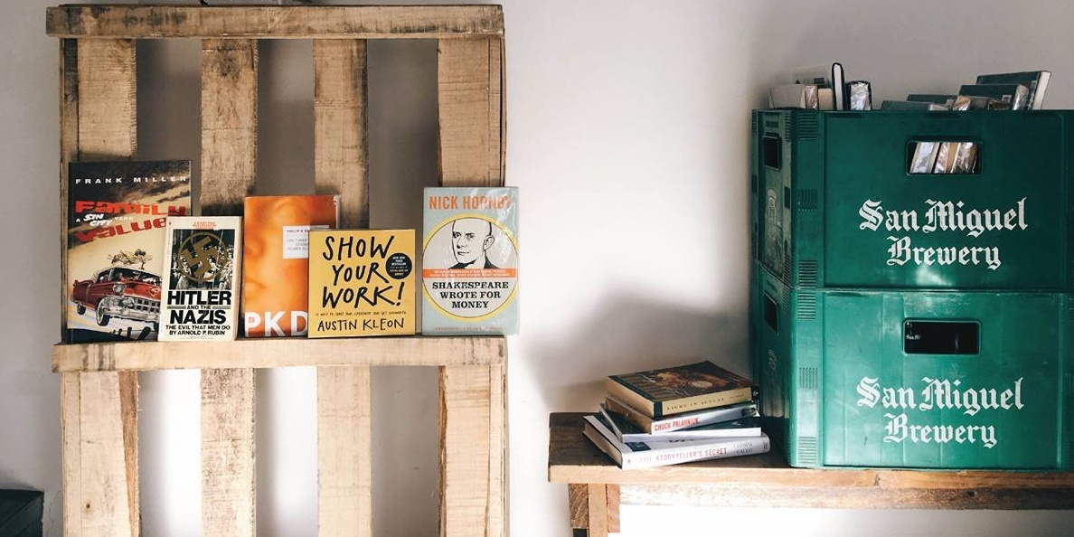 Stripped-down sets, fiction-inspired drinks, and poetry at the Kwago Book Bar fundraiser