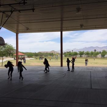 Basketball/Outdoor Area