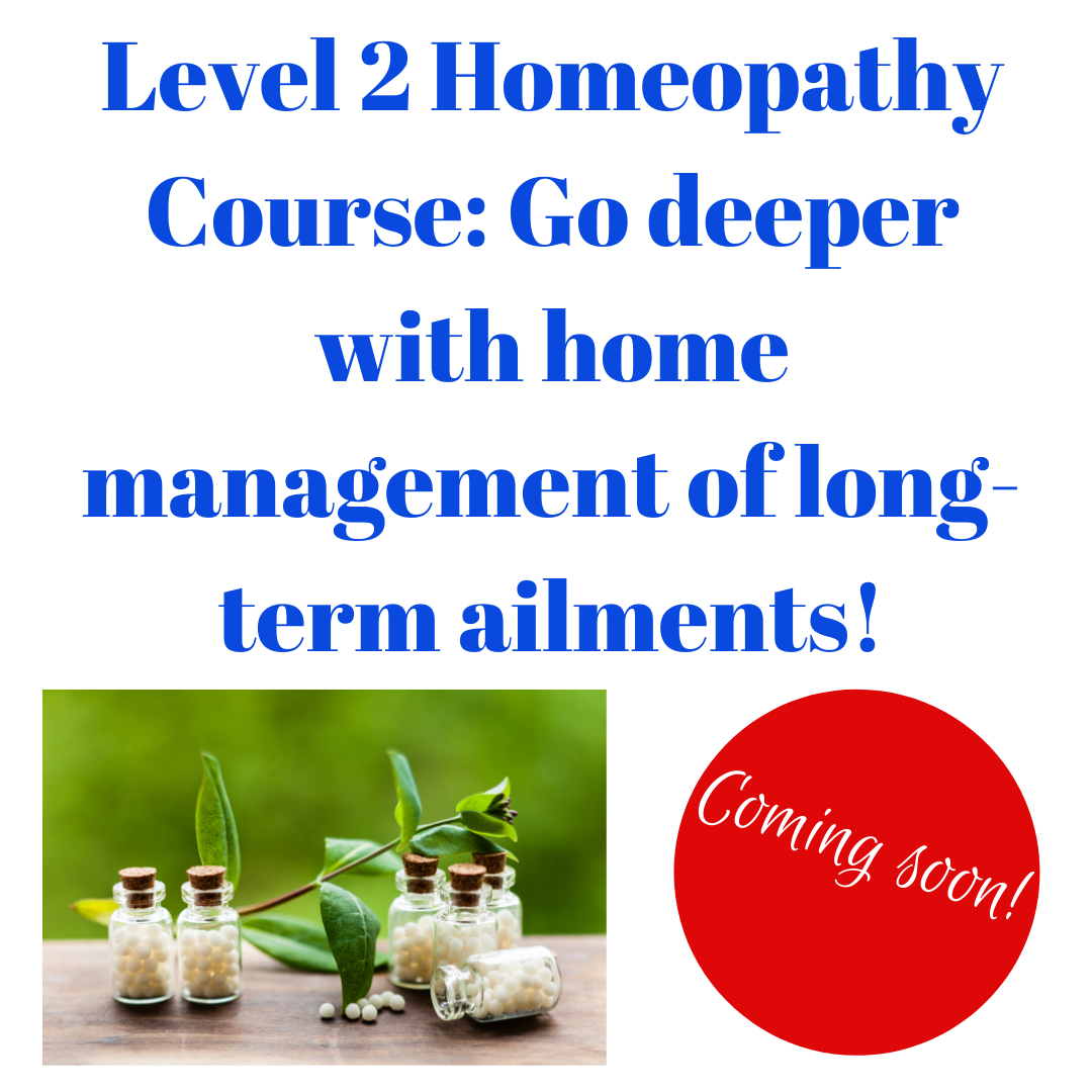 Level 2 Homeopathy Course