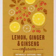 Organic Lemon, Ginger and Ginseng Infusion from Marks & Spencer Tea