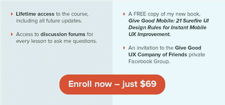 Enroll in 90-Minute UI/UX Audit