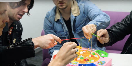 Bandwagon goes fishing for questions with Foster The People – watch