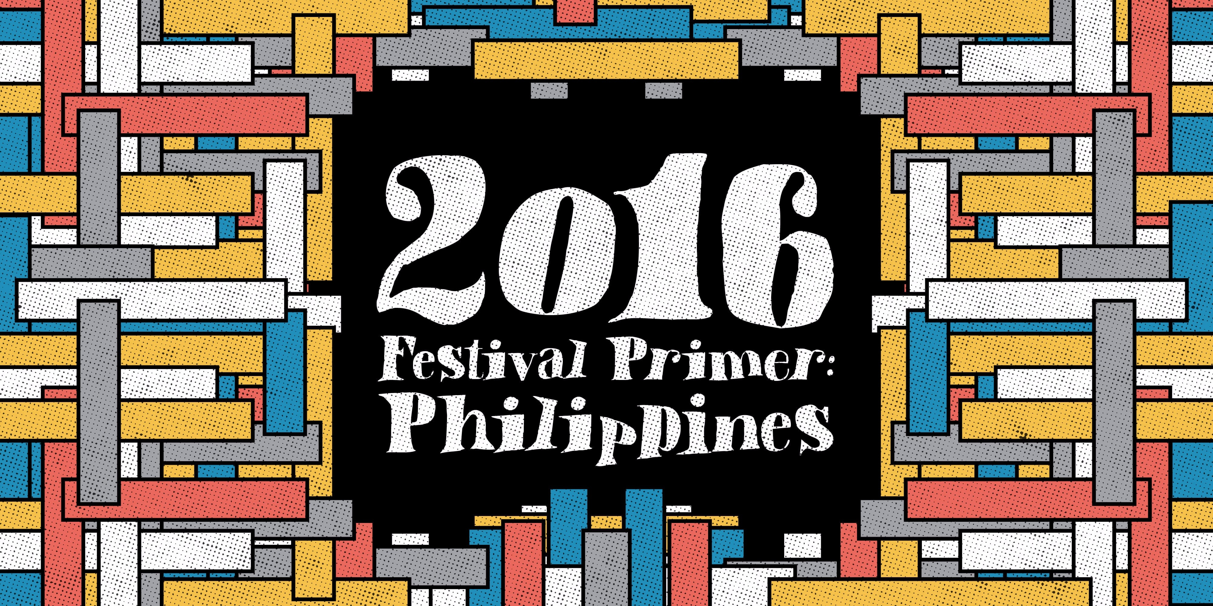 The 2016 Bandwagon Festival Primer: Philippines