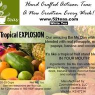 Tropical Explosion White Tea from 52teas