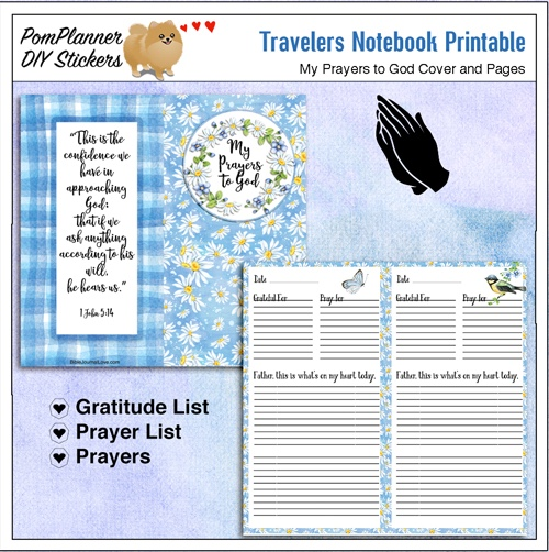 Bible Journaling in a Travelers Notebook Proverbs 31 & Bible Women Study #BibleJournaling #Travelersnotebook
