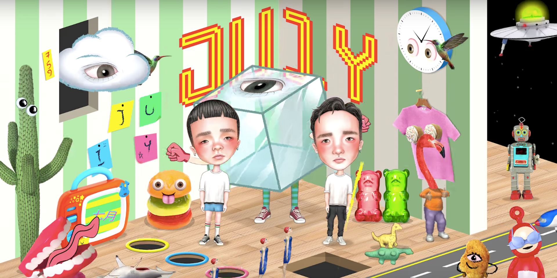 Gentle Bones & MYRNE unveil music video for 'JU1Y' — watch