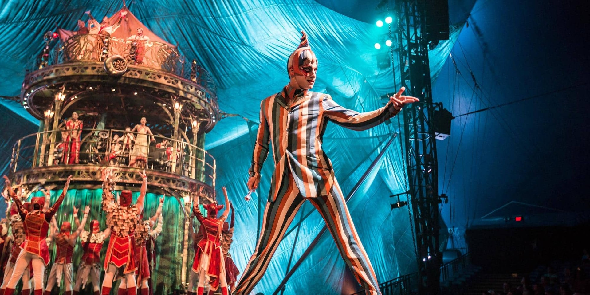 What goes into a Cirque du Soleil show, especially the music — watch