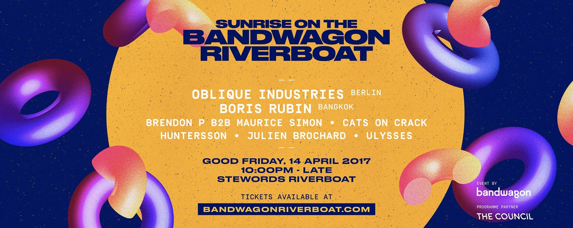 Sunrise On The Bandwagon Riverboat