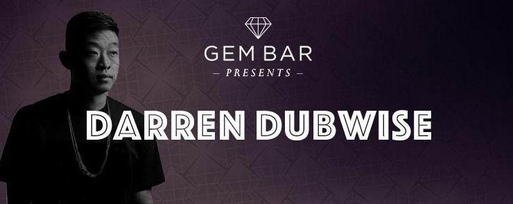 Gem Bar Presents Darren